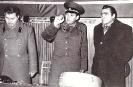 Командир 9-й дПВО генерал Гинжук А. Б. на КП